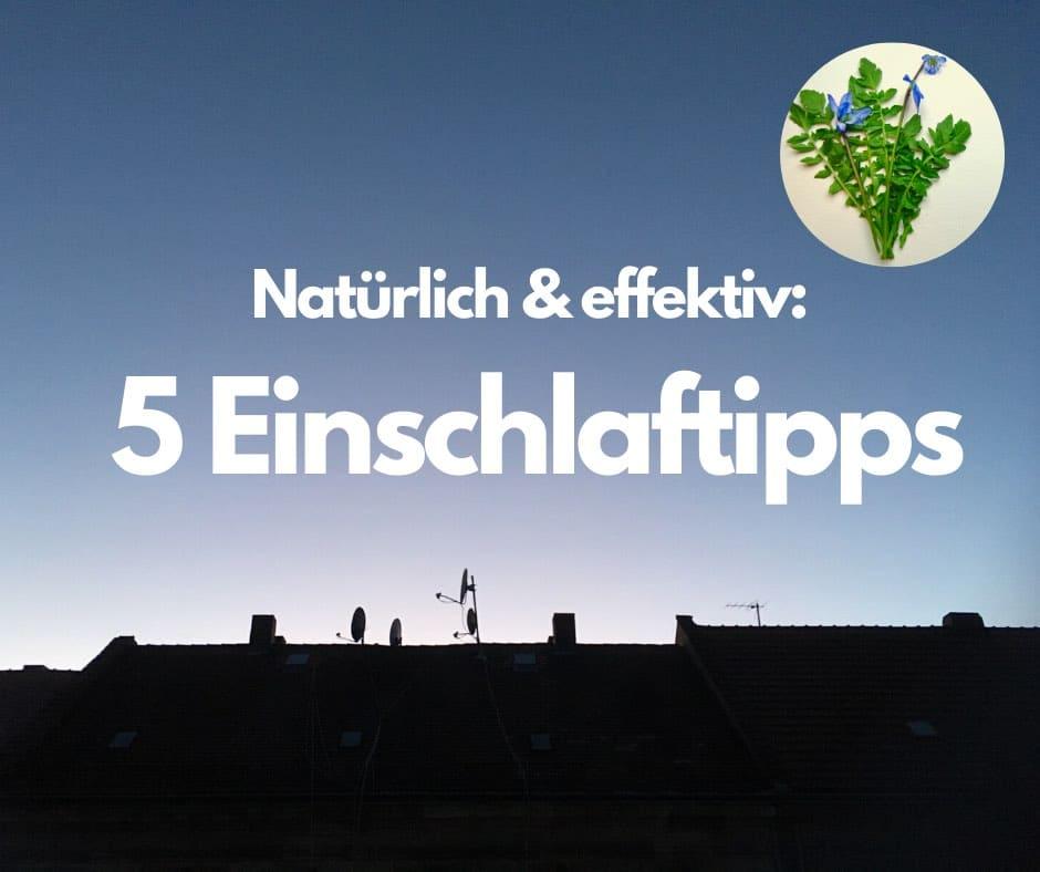 Read more about the article Natürlich und effektiv: 5 Einschlaftipps